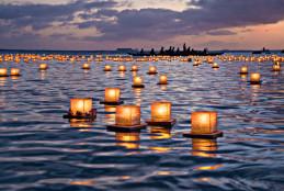 Lanternas no Havai