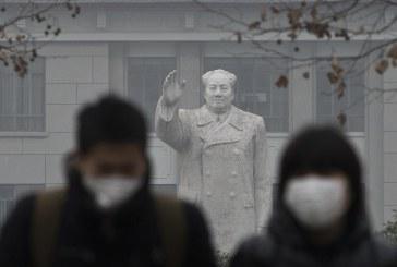 Nuvem negra assola Pequim