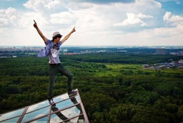 Fotografias em lugares altos