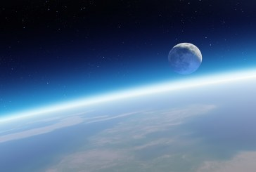 A Terra vista do espaço em tempo real