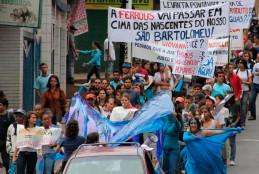 Campanha pelas águas e contra o mineroduto da Ferrous