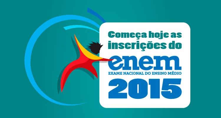 Inscrições Abertas para o ENEM 2015
