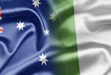 Austrália x Irlanda