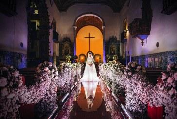 Fotógrafo de casamento registra imagem incrível
