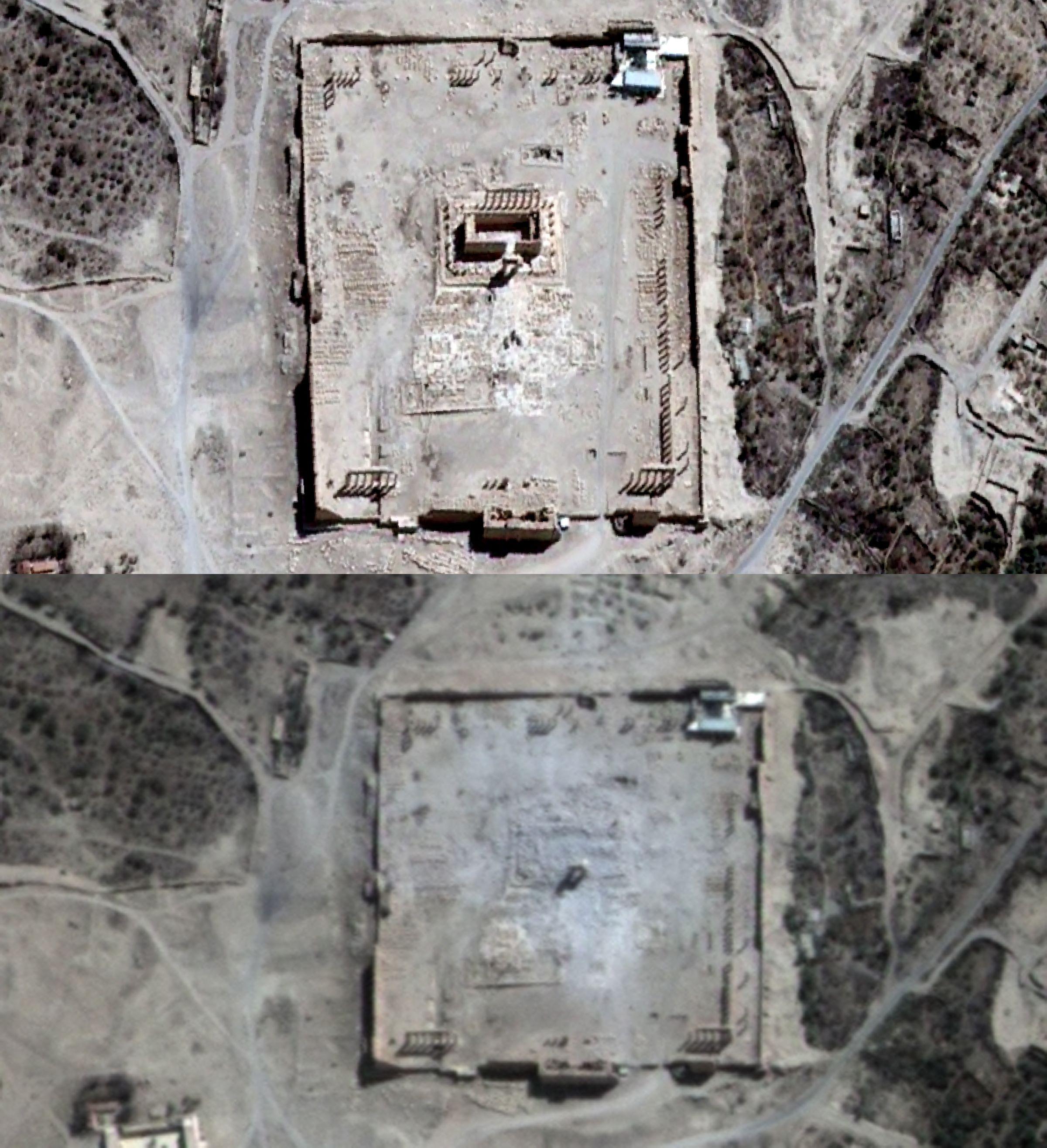 SYRIA-CONFLICT-HERITAGE-PALMYRA-UN