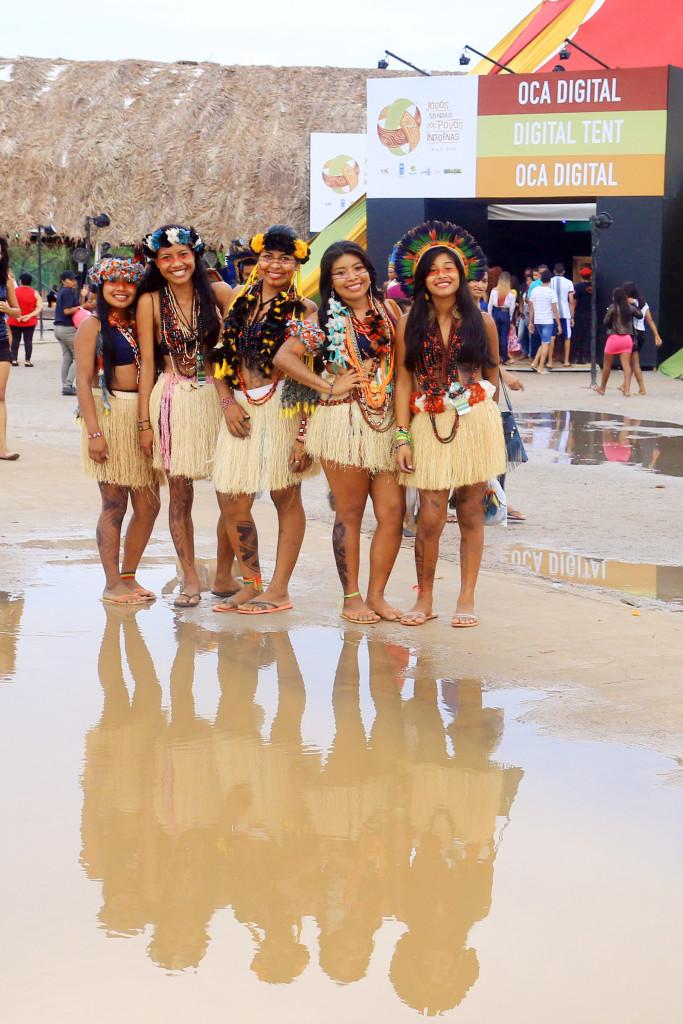 30/10/15 - Competições de Corrida e cabo de força dos Jogos Mundiais dos Povos Indígenas. Fotos: Francisco Medeiros/ME