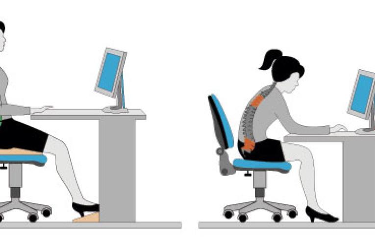 coluna e a postura ideal