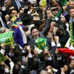 Dilma é derrotada em votação pelo impeachment na Câmara dos Deputados