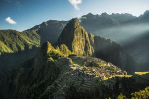 Amanhecer em Machu Picchu