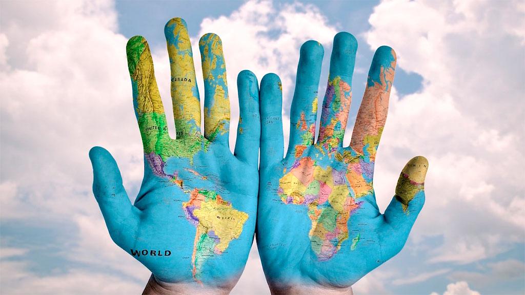 O mundo ao seu alcance