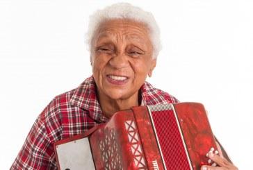 Dona Gracinha da Sanfona grava seu primeiro DVD em Brasília