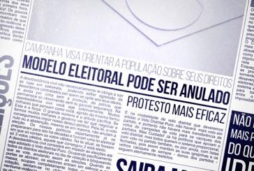 Brasileiros se mobilizam a favor de eleições a partir do Voto Distrital Puro
