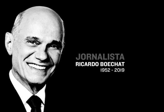 Jornalismo perde o Grande Mestre Boechat