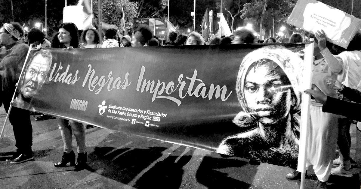 A Marcha das Mulheres Negras