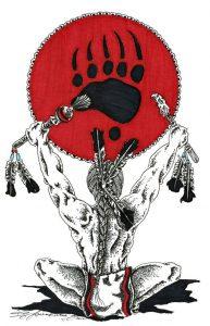 Ilustração Garra Urso