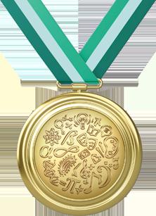 OIMC Medalha Olimpíada Conhecimento